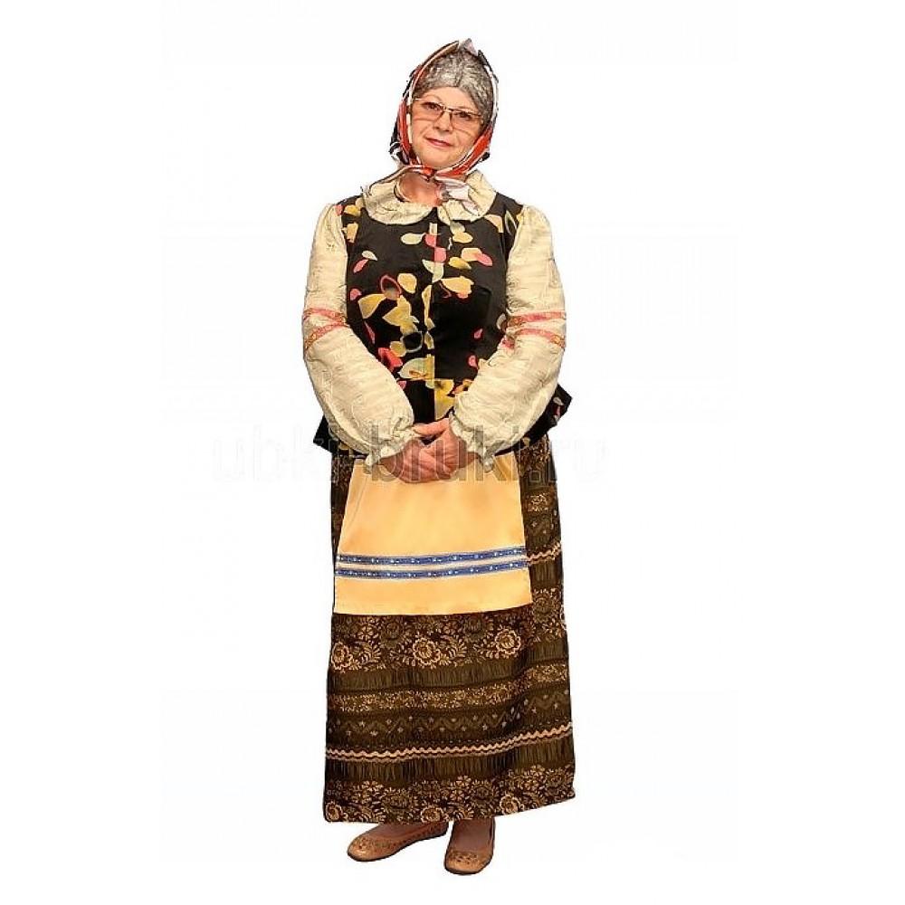 Взрослый костюм Бабка 54 размера