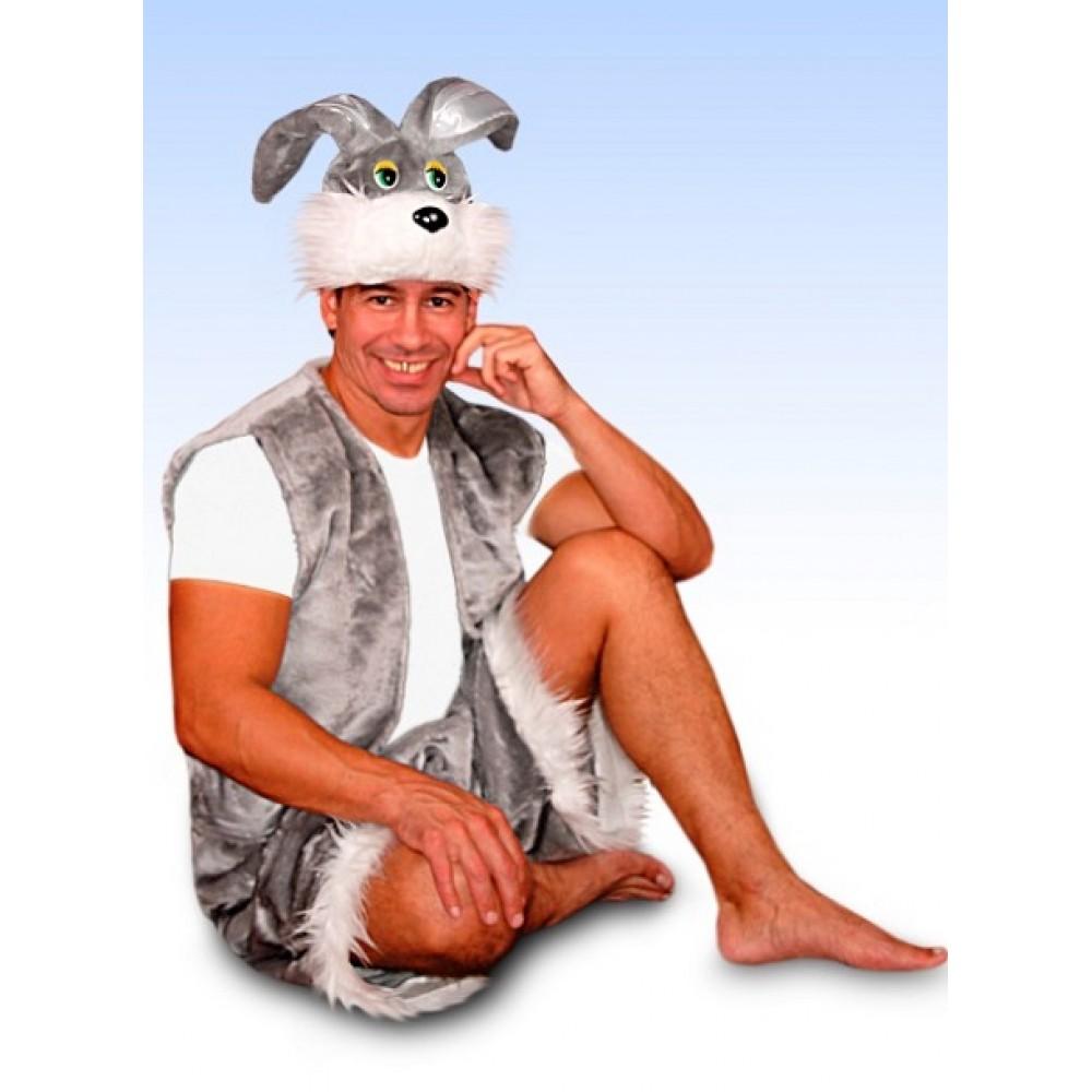 Костюм зайца взрослый