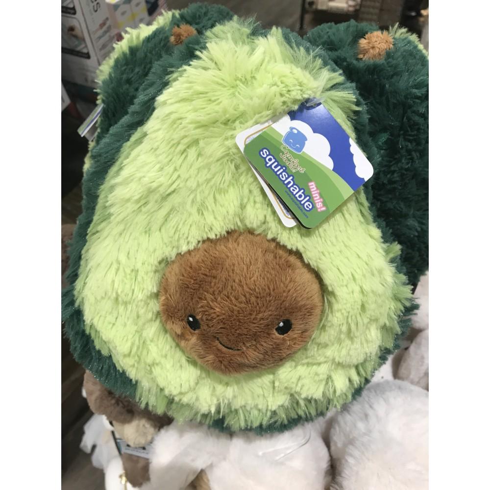 Авокадо - мягкая плюшевая игрушка (плюшевый авокадо) 30 и 40 см