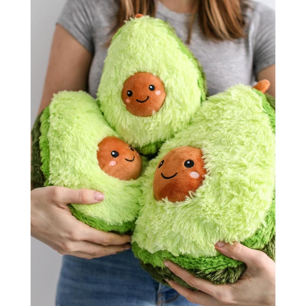 Авокадо - мягкая плюшевая игрушка (плюшевый авокадо) 20, 30 и 40 см