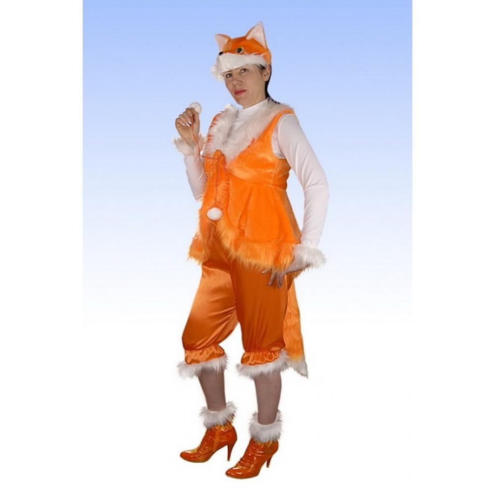 Лиса взрослый Новогодний костюм 48-50 размеров. Детский карнавальный ... 17b1c84a0c99e