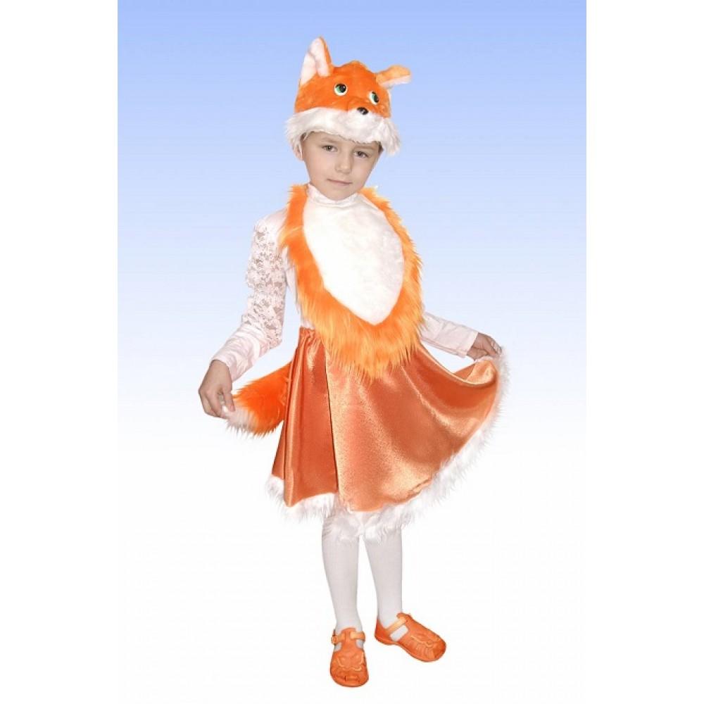 Карнавальный детский костюм Лисичка-1. Детский карнавальный костюм. 0488ac120132f