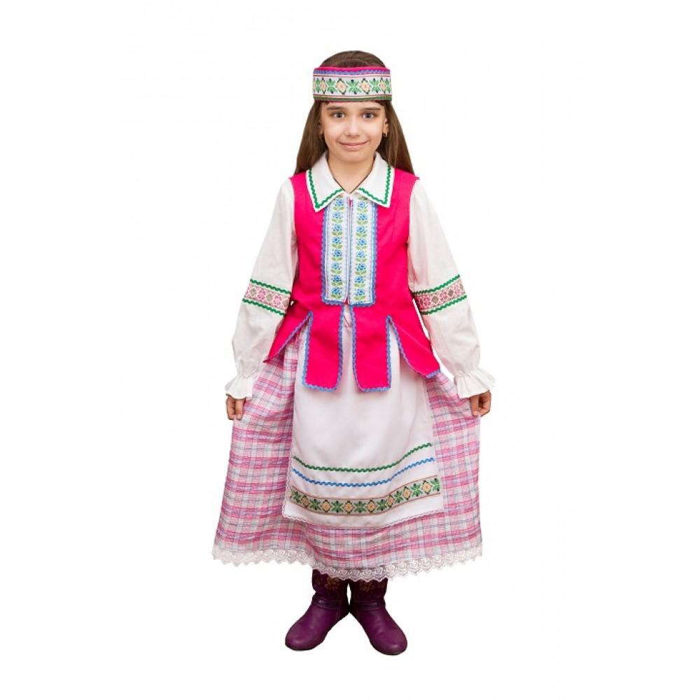 Белорусский костюм для девочки
