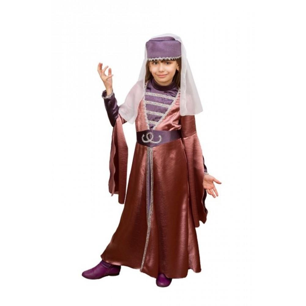 Грузинский национальный костюм для девочки e04da571eb5