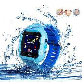 Водонепроницаемые детские умные GPS часы Wonlex KT-03 с Wi-Fi и камерой