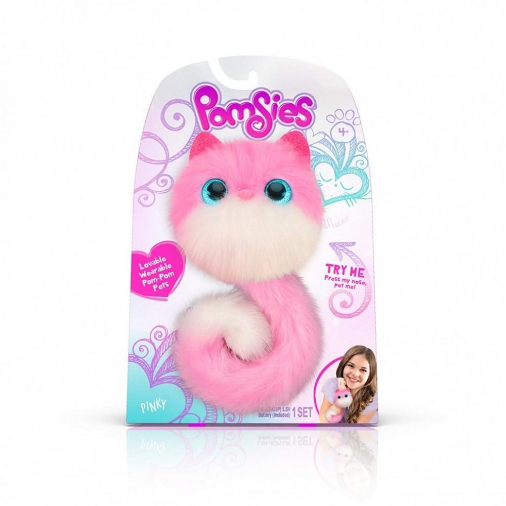 Pomsies (Помсис) - интерактивная игрушка котенок