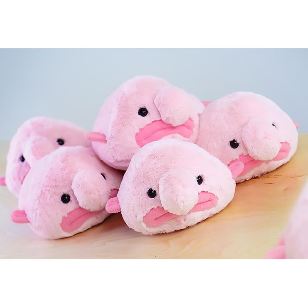 Рыба-капля (Blobfish) - мягкая плюшевая игрушка 20 и 55 см.