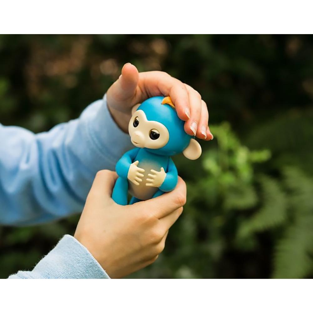 Fingerlings Monkey (прилипунцель) - интерактивная ручная обезьянка игрушка (оригинал)