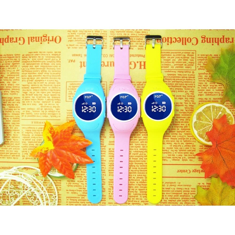 Водонепроницаемые детские умные GPS часы Wonlex GW300S (Q520S, W8) (оригинал)