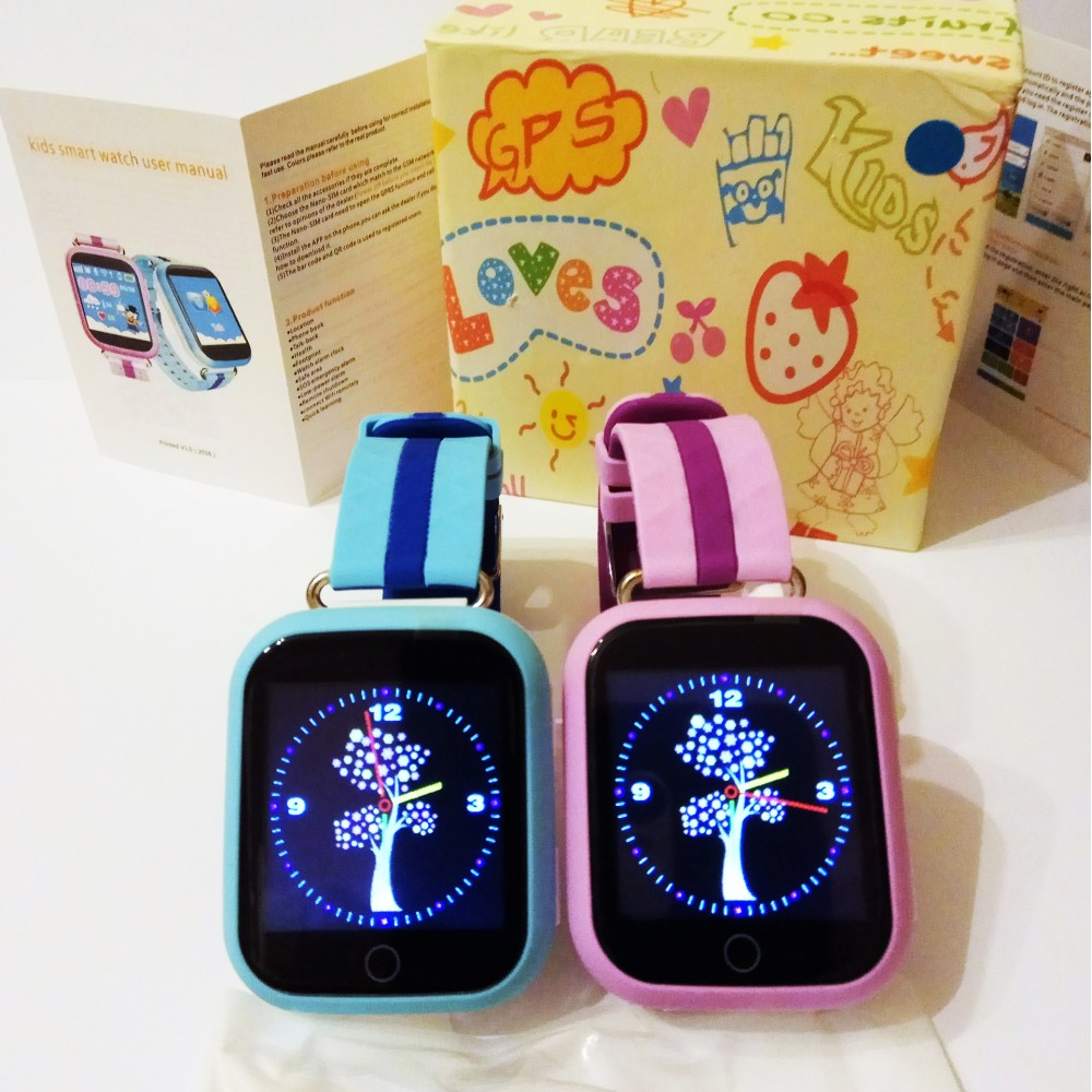 Детские часы с GPS Smart Baby Watch Q100 (Q750, GW200S) (оригинал)