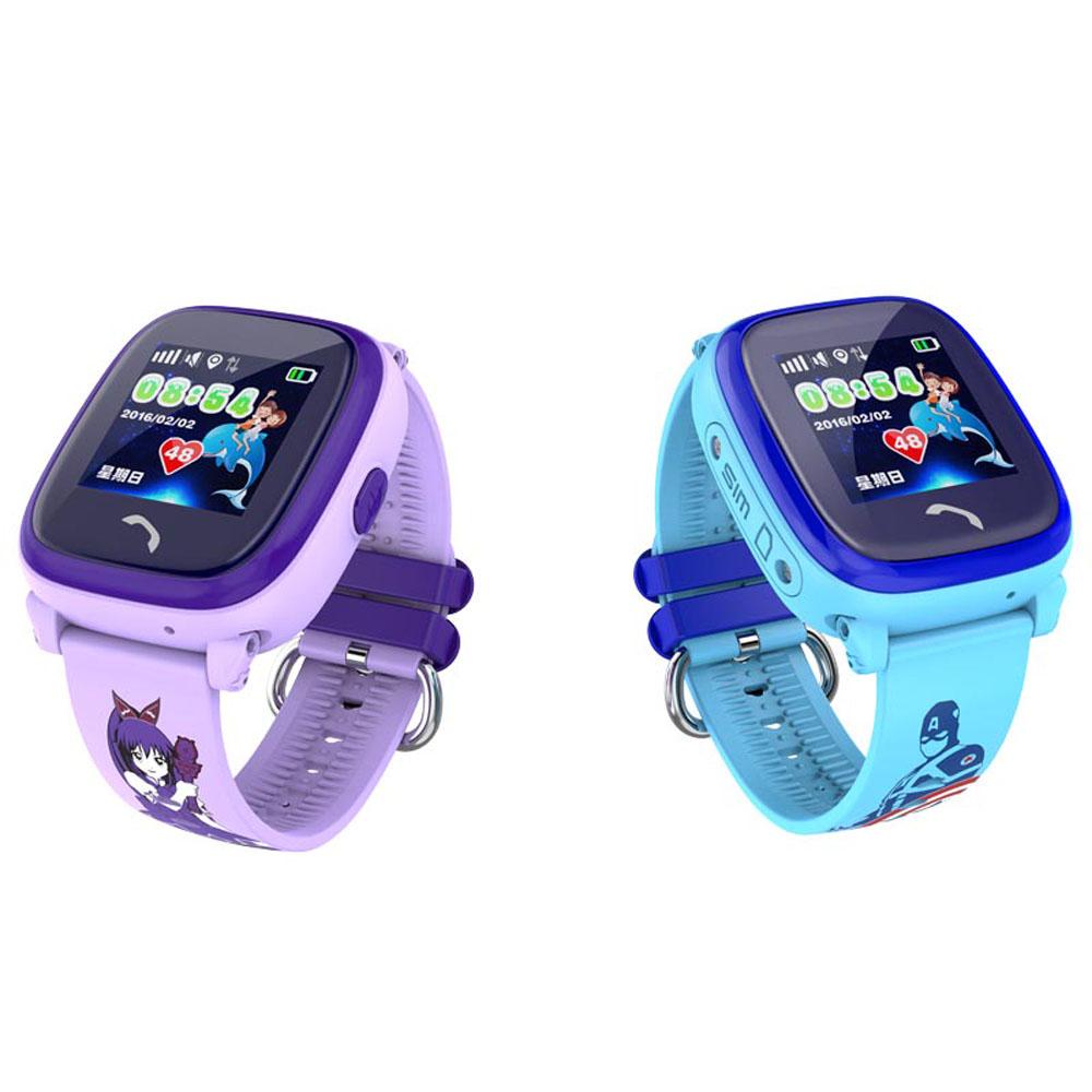 Водонепроницаемые детские умные GPS часы Wonlex GW400S (DF25, W9) (оригинал)