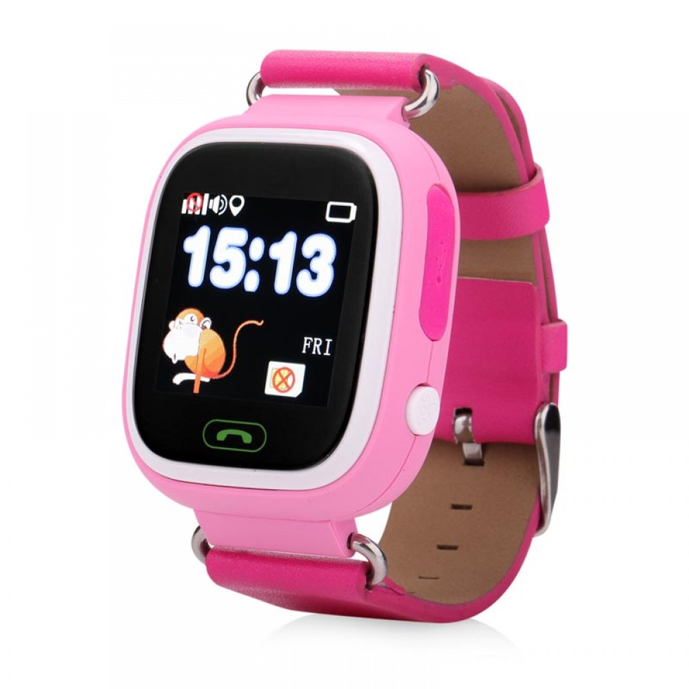 Детские часы с GPS Smart Baby Watch Q90 (Q80, GW100) (оригинал)