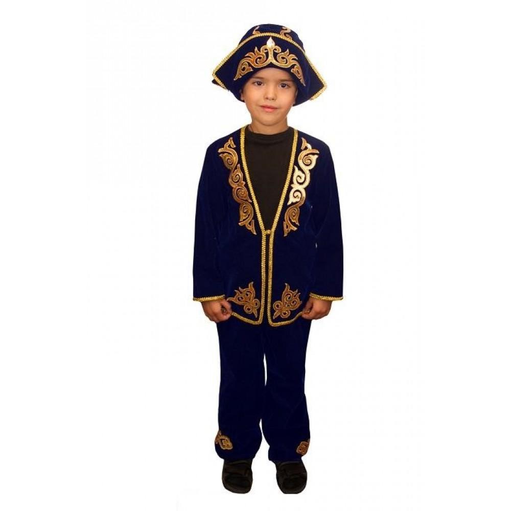 Казахский национальный костюм для мальчика своими руками