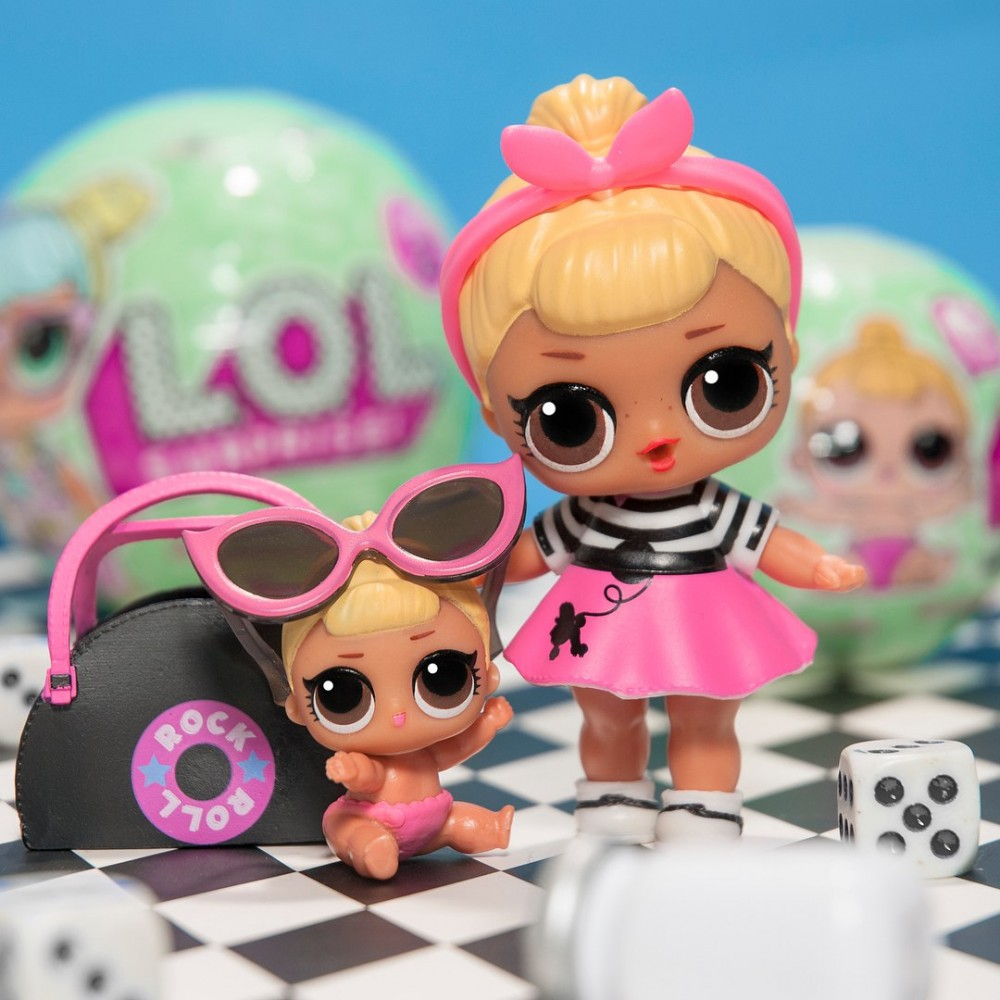 Кукла ЛОЛ - LOL Surprise - сюрприз в шаре (оригинал)