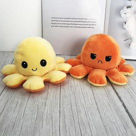 Плюшевая игрушка Осьминог-перевёртыш (реверсивный осьминог)