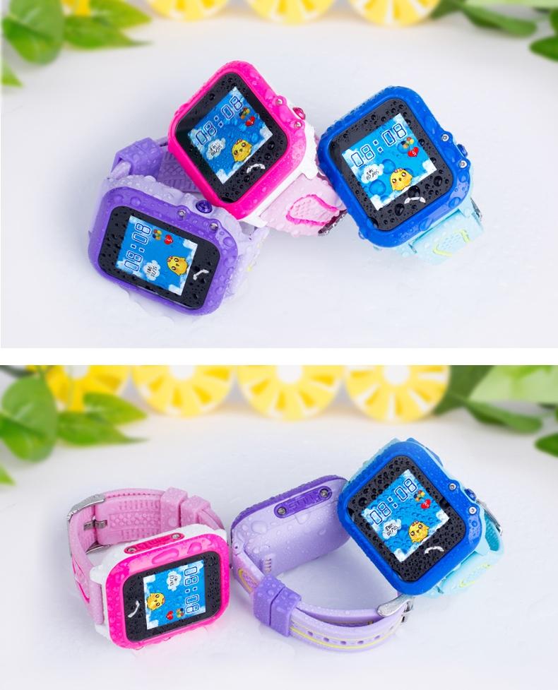 Wonlex GW400E (DF27) водонепроницаемые детские GPS часы