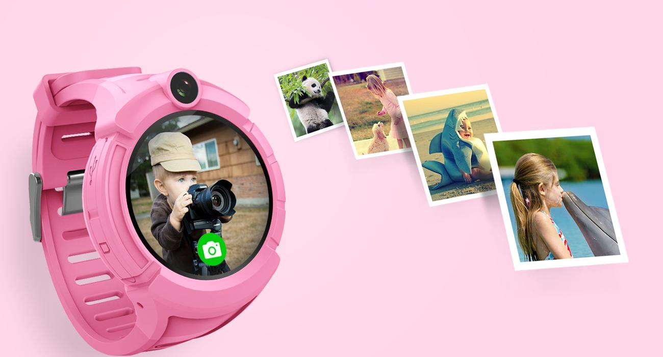 Q360-G51-GW600-G610-детские часы с камерой и фонариком