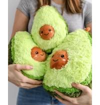 Авокадо - мягкая плюшевая игрушка (плюшевый авокадо) 30 и 50 см