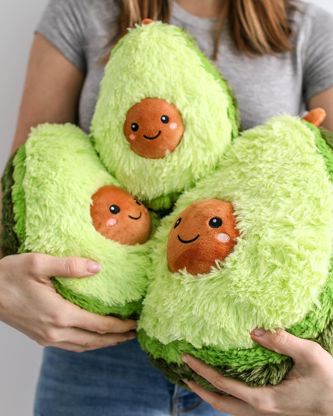 Авокадо - мягкая плюшевая игрушка (плюшевый авокадо)